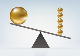 Déséquilibre Boules
