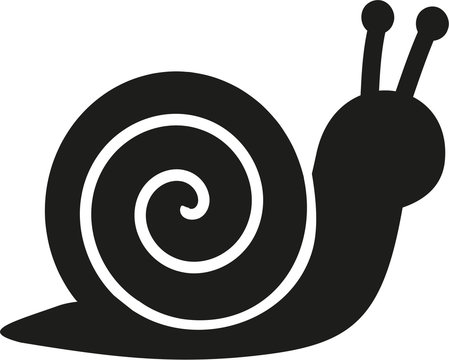 Snail pictogram