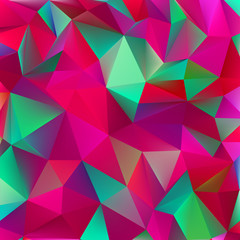 Abstract green and pink. EPS 8