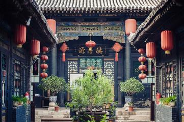 Photo sur Plexiglas Chine Red Chinese Paper Lanterns