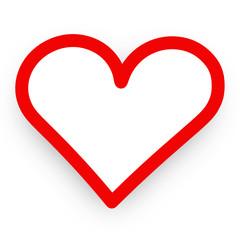 Herz Symbol Zeichen Rot Vektor