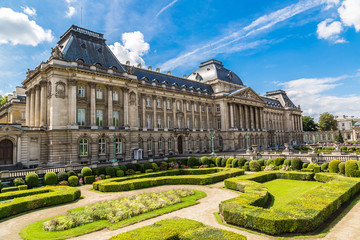 The Royal Palace in Brussels