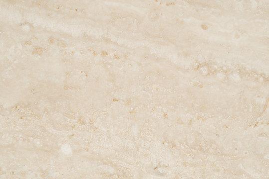大理石のバックグラウンド トラバーチンのクローズアップ