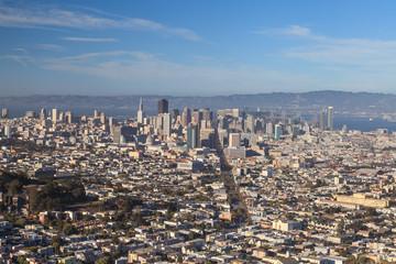 Vista of San Francisco City