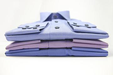 Mens t-shirt folded on background