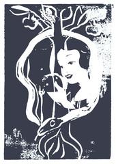 kalligrafie lithografie grafik