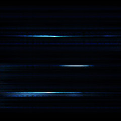 Dark blue blurred background with binary code in vector. Blue sc