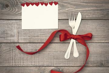 Valentine's dinner with big love