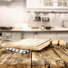 wooden kitchen desk top