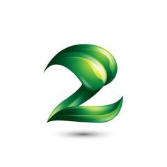 Leaf Number Two Logo