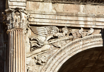 Winged Victory from the Arch of Constantine