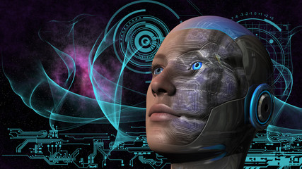 Cyborg Woman - Humanoid
