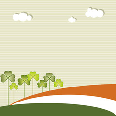 Saint Patrick's Day Abstract Background