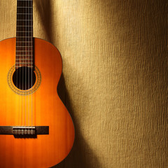 Acoustic guitar spanish