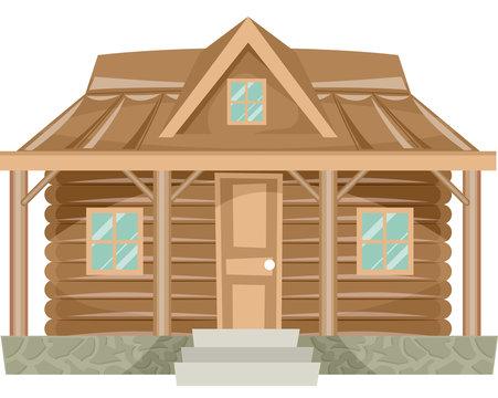 House Log Cabin