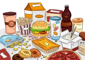Junk Food Bunch