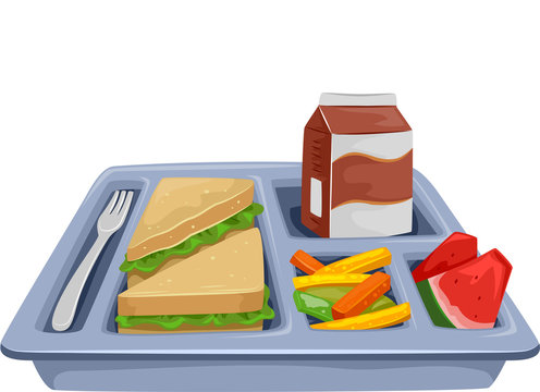 Meal Tray Diet Lunch