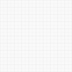 Barely  visible seamless grey  millimeter paper pattern