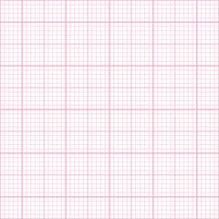 Seamless pink millimeter paper pattern
