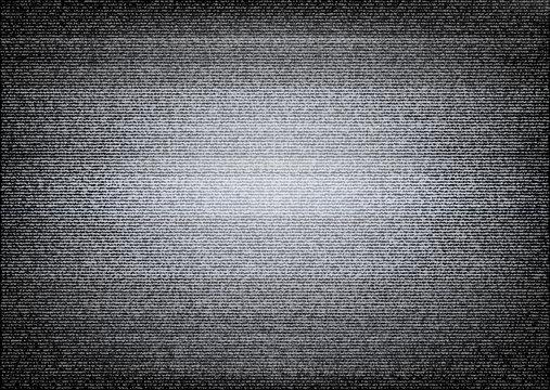 No signal TV illustration. Scalable vector. Error concept