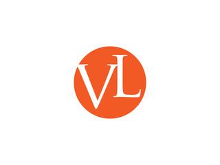 Double VL letter logo