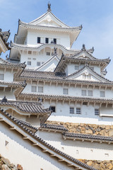 Himeji Castle , A hilltop Japanese castle complex located in Himeji, Hyogo Prefecture