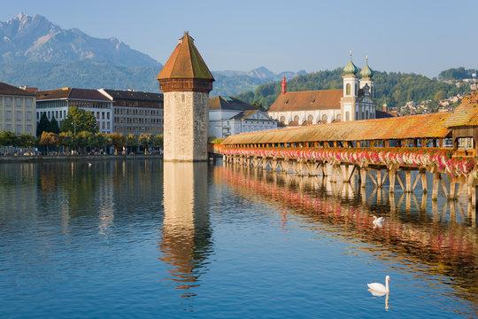 Luzern in the morning