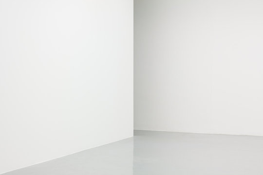 White walls corner photograph