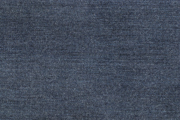 Background photo of texture of midnight blue denim jeans textile