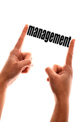 Smaller management concept