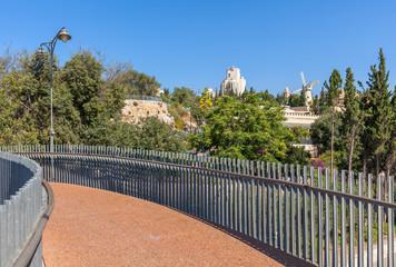 Jerusalem cityscape view.