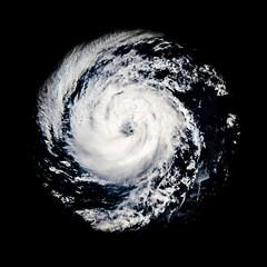 Global storm space vortex Guillermo