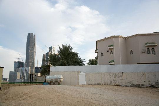 Riyadh financial district