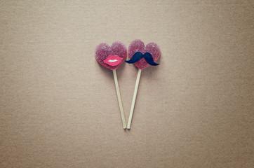 Valentine's day or wedding concept
