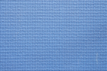 background of blue yoga mat