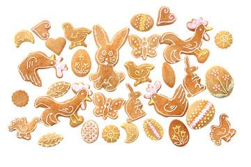 easter gingerbread..