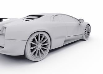 Wall Mural - concept sport car