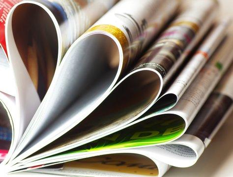 Hochglanzmagazin
