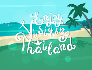 Enjoy visiting Thailand banner