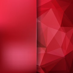 Abstract polygonal vector background. Colorful geometric vector illustration. Creative design template. Abstract vector background for use in design