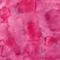 Square pink watercolor background