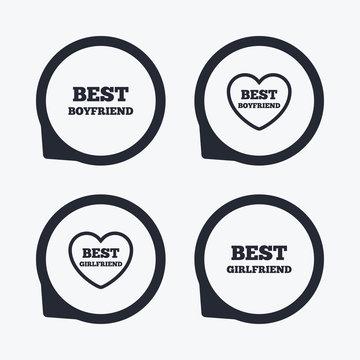 Best boyfriend and girlfriend icons.