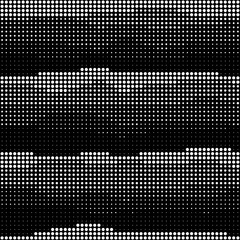 Abstract seamless wavy halftone pattern