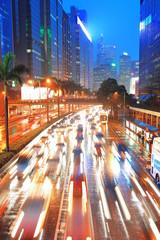 Wall Mural - Hong Kong street view