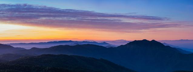 Inthanon morning twilights