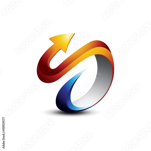 3d s logo vector images galleries Vector image software
