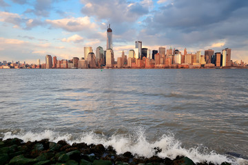 Fototapete - Downtown Manhattan skyline