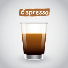 Vector Illustration : Espresso