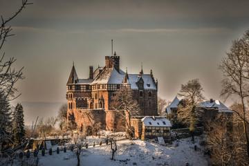 Foto auf Leinwand Schloss Das Schloss Berlepsch bei Witzenhausen in Nordhessen