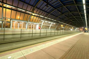 Przystanek tramwajowy, Dworzec Zachodni Poznań
